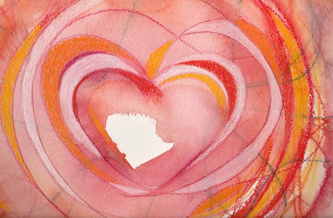 Herz 10 von Stefanie Menzel