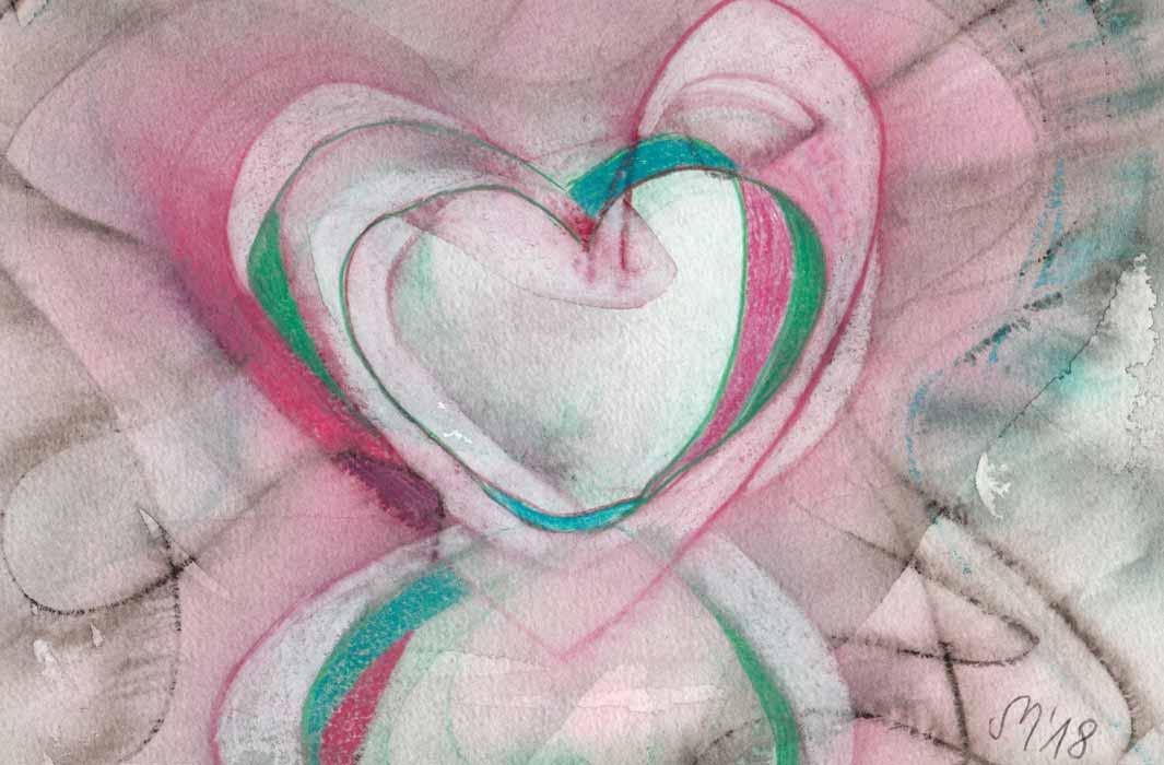 Herz 9 von Stefanie Menzel