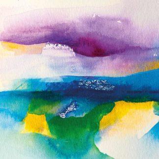 Aquarell Aussicht von Stefanie Menzel