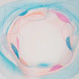 Aquarell Lichtzentrum 1 von Stefanie Menzel