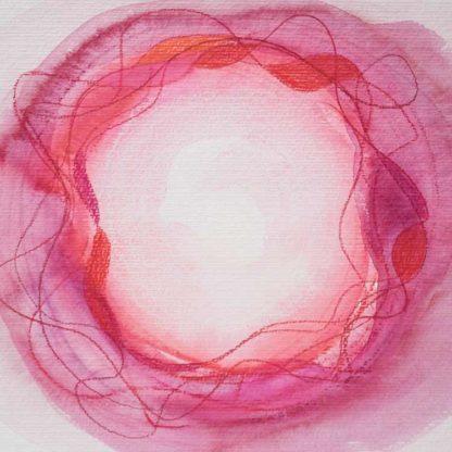Aquarell Lichtzentrum 11 von Stefanie Menzel