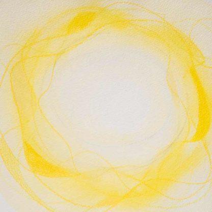 Aquarell Lichtzentrum 12 von Stefanie Menzel