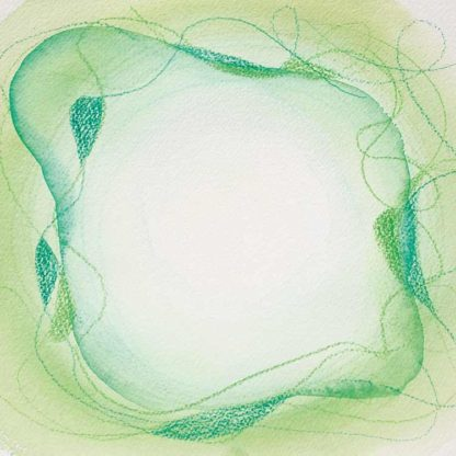 Aquarell Lichtzentrum 4 von Stefanie Menzel
