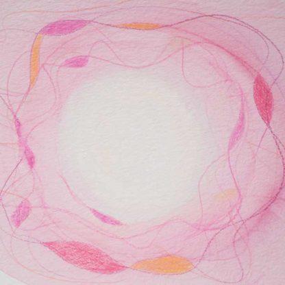 Aquarell Lichtzentrum 6 von Stefanie Menzel
