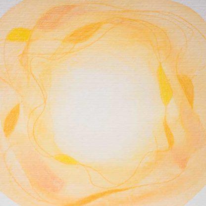 Aquarell Lichtzentrum 7 von Stefanie Menzel