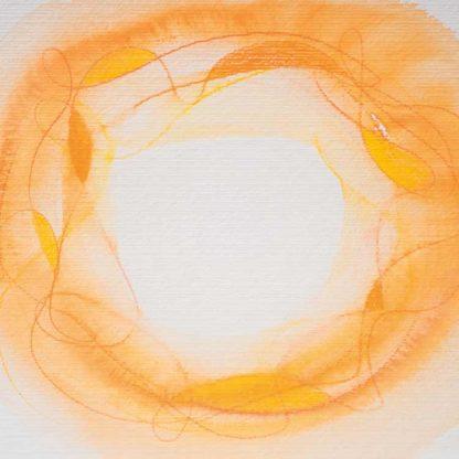 Aquarell Lichtzentrum 8 von Stefanie Menzel
