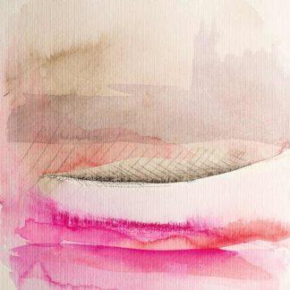 Aquarell Nebel von Stefanie Menzel