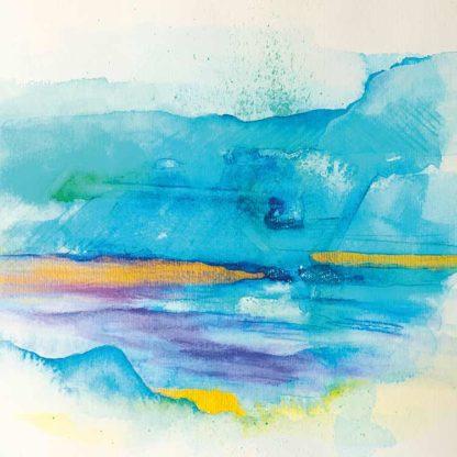 Aquarell Wasserimpression von Stefanie Menzel