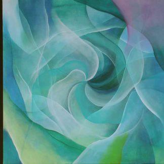 Lichtwirbel 10 von Stefanie Menzel